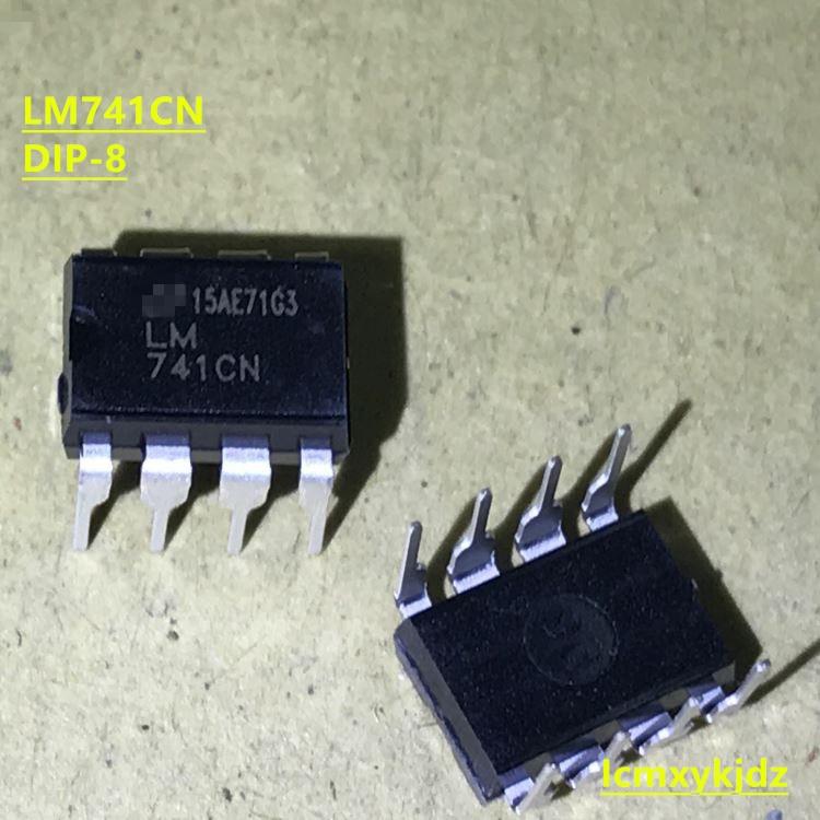 10 unids/lote, UA741CN LM741CN LM741 UA741 UA741CP DIP-8, nuevo producto Original, envío gratis, entrega rápida
