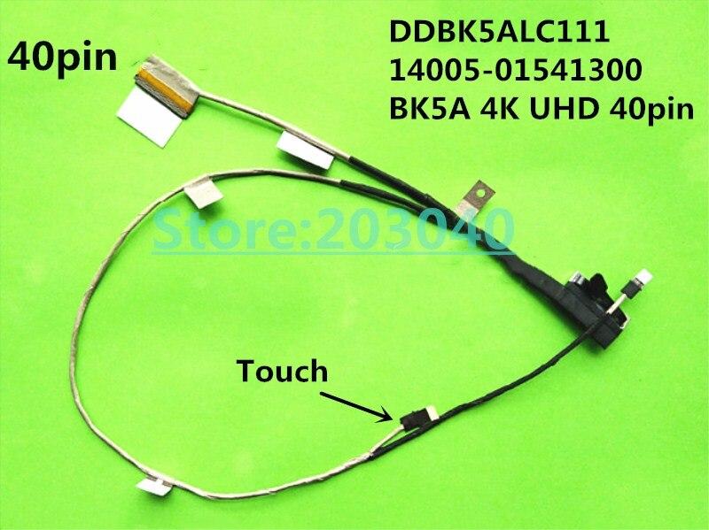 La computadora portátil/portátil LCD/LED/cable LVDS para Asus N501J N501JW N501JM UX501J UX501JM DDBK5ALC111 14005-01541300 BK5A 4K UHD 40p Touch