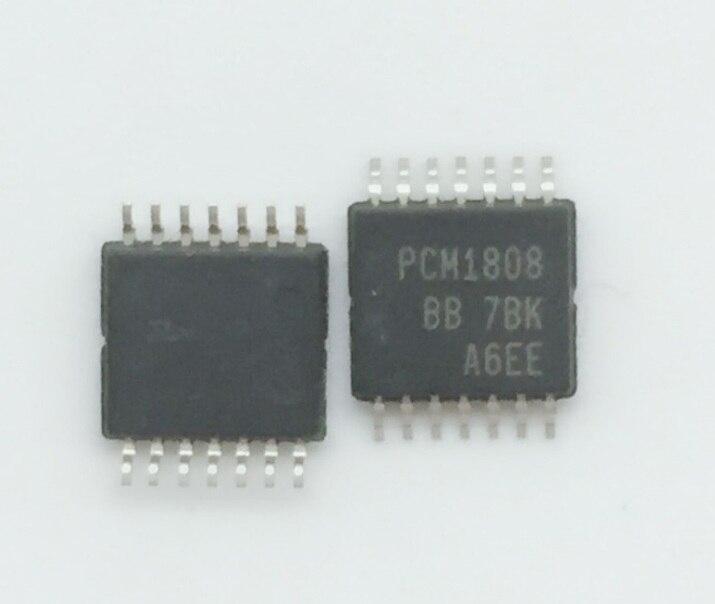 10/Uds mucho PCM1808PWR PCM1808 TSSOP14 nuevo