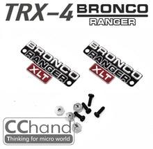 CChand metal side logo for Traxxas TRX-4 TRX4 Ford Bronco