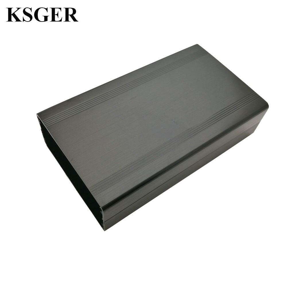 KSGER Soldering Station Case Aluminum Alloy Material T12 DIY Kits 150MM 120MM STM32 STC Temperature Controller Handle Welding