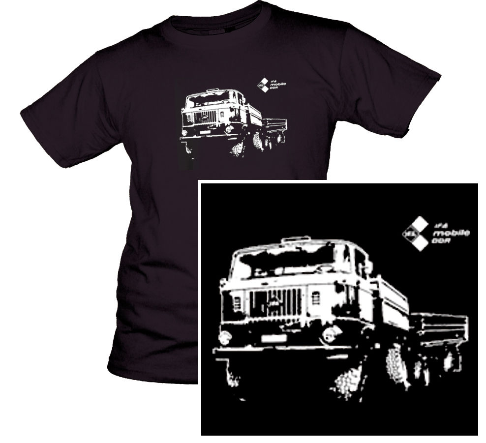 W 50 T-Shirt Lkw Ifa Anhänger Kipper Feuer L60 Lpg Ludwigsfelde Ddr 100% Baumwolle Gerade Oansatz Kurzarm Hipster T hemd
