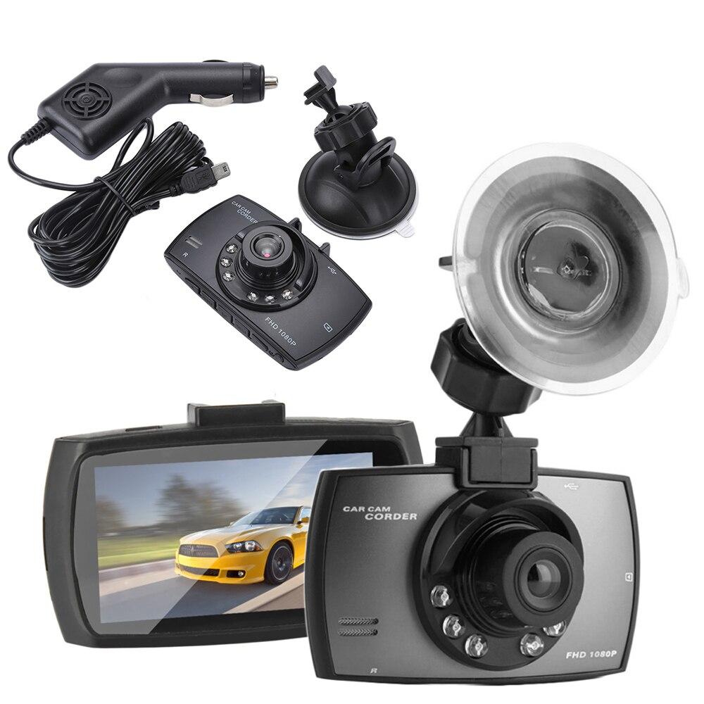 """2,4 """"LCD lente gran angular cámara de coche ciclo grabadora DVR Cámara IR visión nocturna Ceamara DVR XNC"""