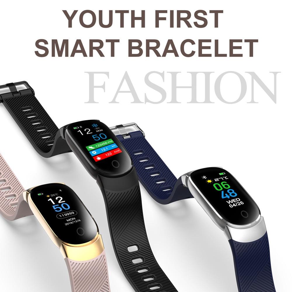 2020 Smart Bracelet Fitness Tracker Band 3 Heart Rate Monitor Waterproof Pedometer Sport Watch Fashion Smart Wristband
