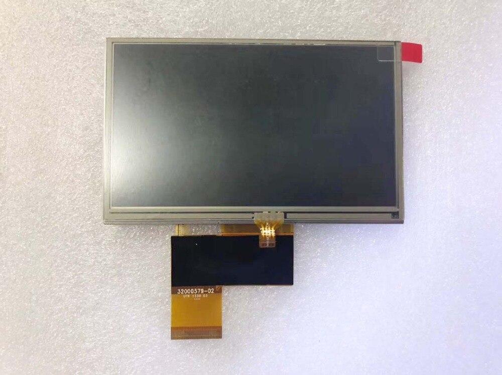 Оригинальный 5-дюймовый ЖК-экран с сенсорным экраном AT050TN33 для Navi N50i BT Автомобильные навигаторы GPS Бесплатная доставка