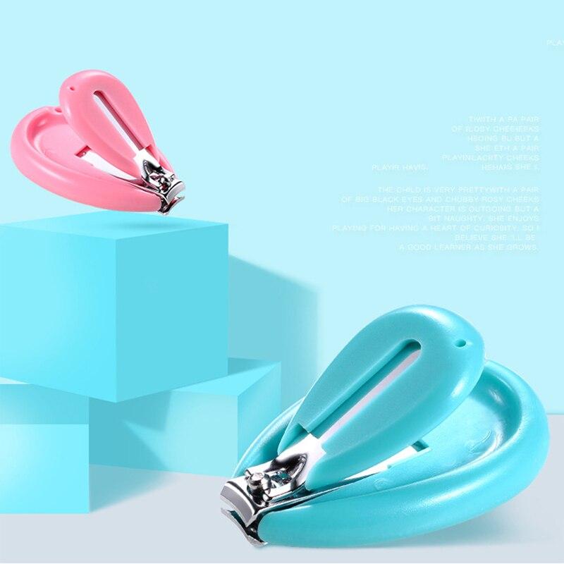 Cortaúñas seguro para bebés, bonito recortador de dedos infantil, tijeras para niños, cortauñas para el cuidado de las uñas para bebés