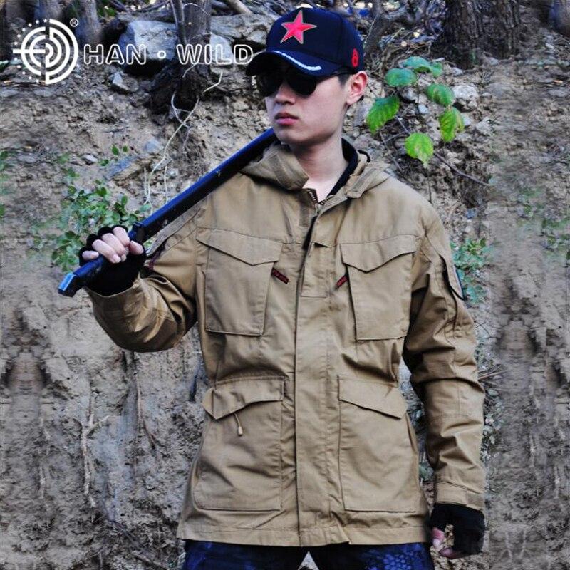 M65 chaqueta táctica Casual para hombre abrigo para deporte al aire libre térmico cortavientos Airsoft ropa de caza