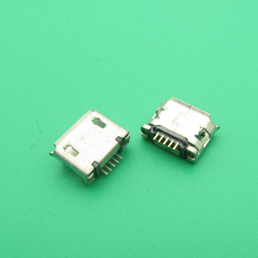 10 unids/lote 5,9mm mini Micro usb JACK puerto de carga Acoplamiento de conector para OPPO X907 para Gionee para Nokia 5800 e71 5PIN