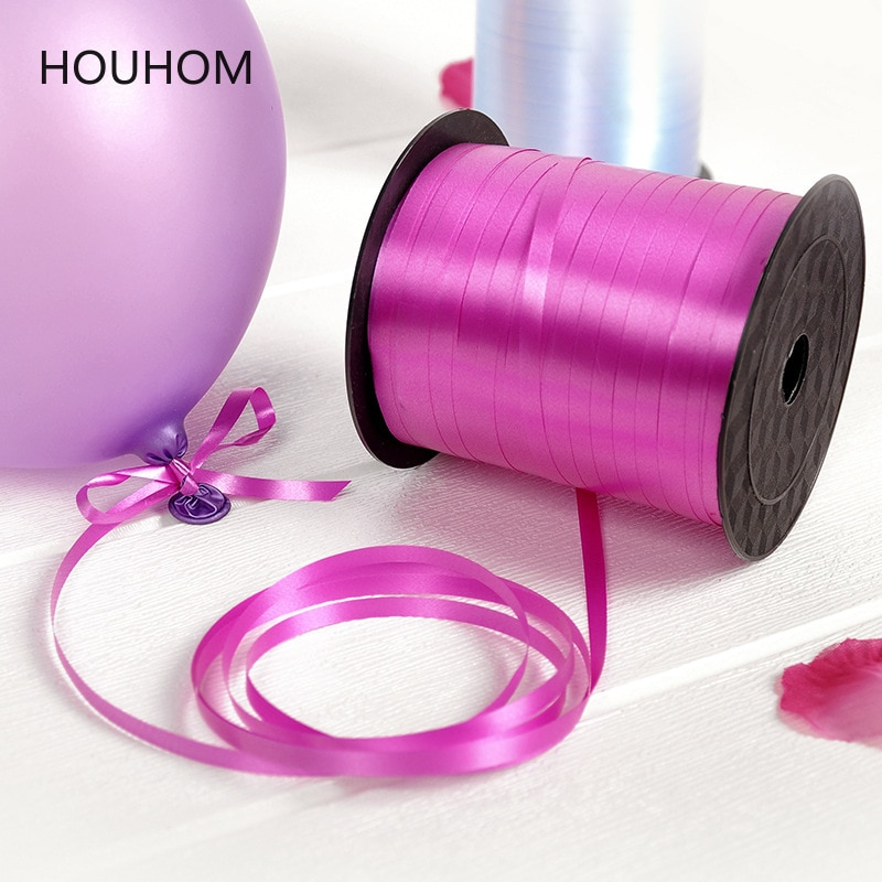 Balloons Ribbon Laser Ribbons for Party Decoration Birthday Gifts DIY Packing Wedding Decoration Foi