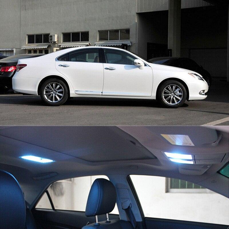 12 v 13 piezas bombilla LED luces de Interior paquete Kit para Lexus ES 250, 300, 350, 2012-2015 estilo