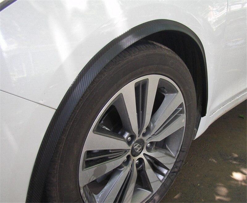 """Soft 2 uds 46 """"117 cm/59150cm 2 uds/set fibra de carbono/Estilo negro Fender bengalas arco rueda cejas para Mazda 2/3/6/8 2011 4 y 5"""