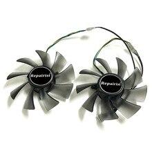 T129025SU 95MM carte graphique ventilateur matrice HD 7970/7950 gpu refroidisseur pour ASUS HD7970 HD7950 DirectCU II carte vidéo refroidissement