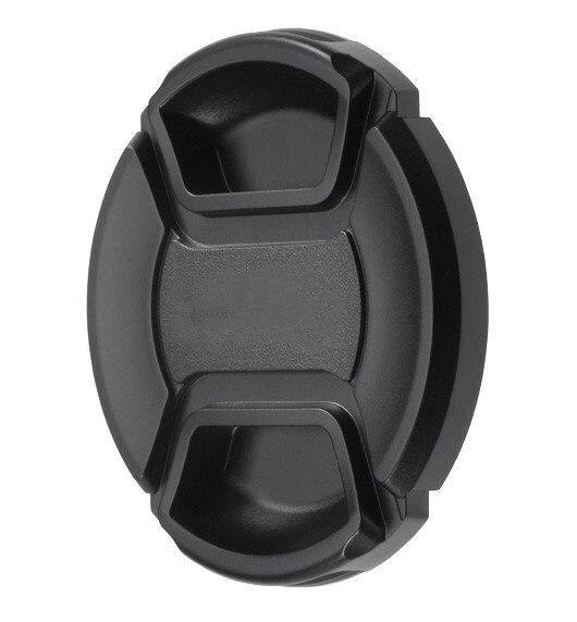 67 milímetros Lens Cap Frente Capa Capa Snap-on com Cabo para Nikon Lens