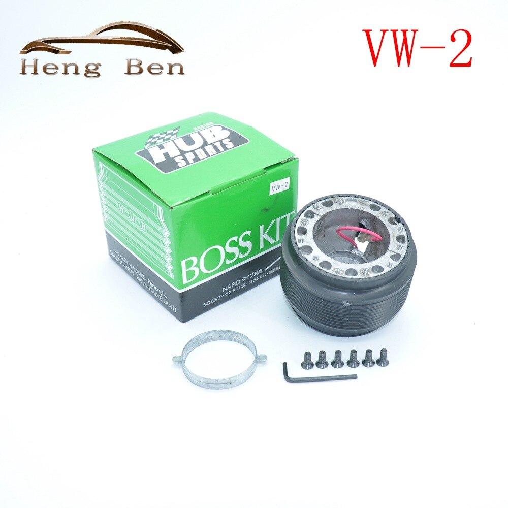 HB uniwersalny Adapter koncentratora koła kierownicy zestaw Boss dla golf2 HUB-VW-2