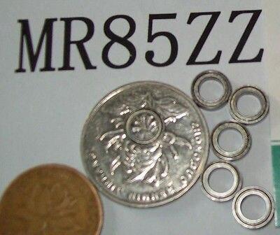 5 uds MR85 MR85Z MR85ZZ rodamientos en miniatura bola minirodamiento 5X8X2,5mm