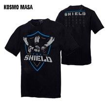 KOSMO MASA Wrestling Men T-shirts Cotton T Shirt Men Cool Summer The Shield Funny Tshirt For Men Casual Short Sleeve Tops MC0292