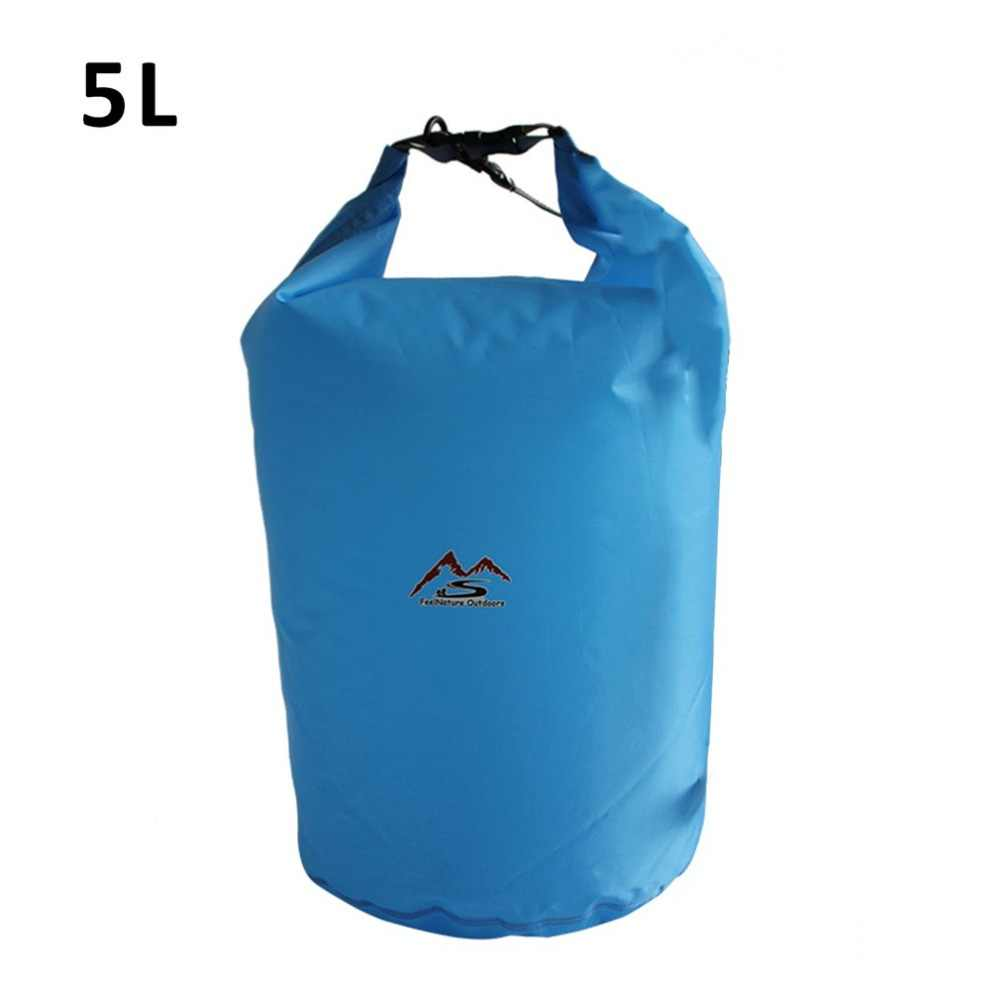 10l 20l Waterproof Dry Bag Pack Sack Swimming Rafting Kayaking River Trekking Floating Sailing Canoing Boating Water Resistance Swimming Bags Aliexpress
