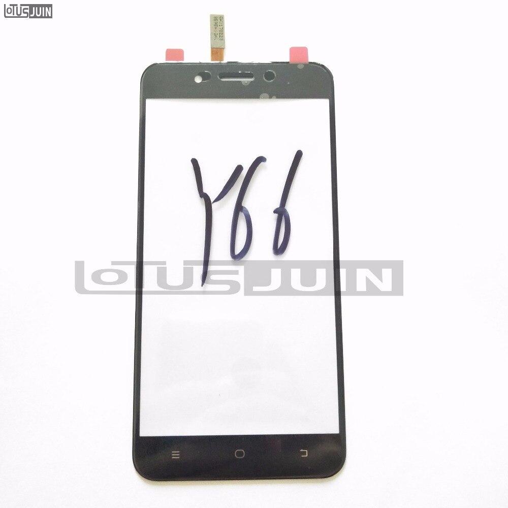 1 piezas de pantalla táctil para teléfono móvil VIVO Y66 digitalizador de pantalla táctil frontal Sensor de Panel de vidrio
