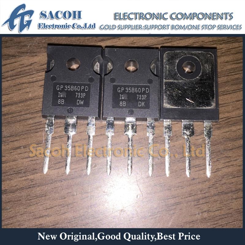 New original 10PCS/Lot IRGP35B60PD GP35B60PD or IRGP35B60PD-EP GP35B60PD-E IRGP35B60 TO-247 35A 600V Power IGBT
