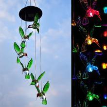 Lampe solaire 6 Style efficace en énergie   Lampe décorative, de Style colibrier papillon éolien, de balcon, de jardin, pour décoration de chambre denfant