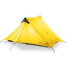2019 LanShan 2 3F UL GEAR 2 Persoon Oudoor Ultralight Camping Tent 4 Seizoen Professionele 15D Silnylon Stangloze Tent