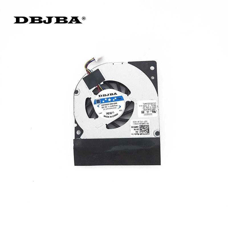 Laptop CPU-LÜFTER FÜR Dell Latitude E4300 CPU Lüfter WM598 GB0555PDV1-A 13. B3442.F. GN Fan