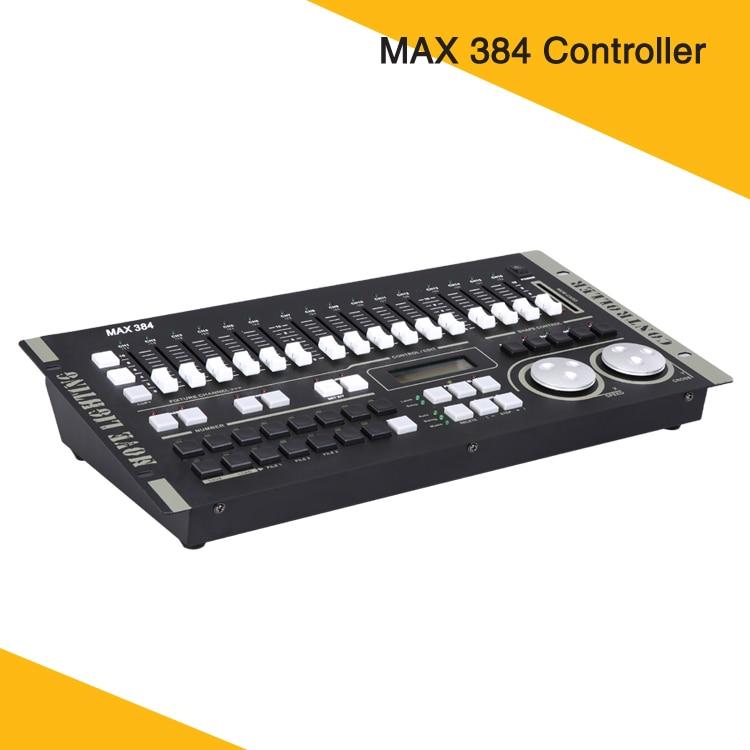 Controlador inteligente maestro DMX Dimmer Console máx. 384 para luces de escenario DJ