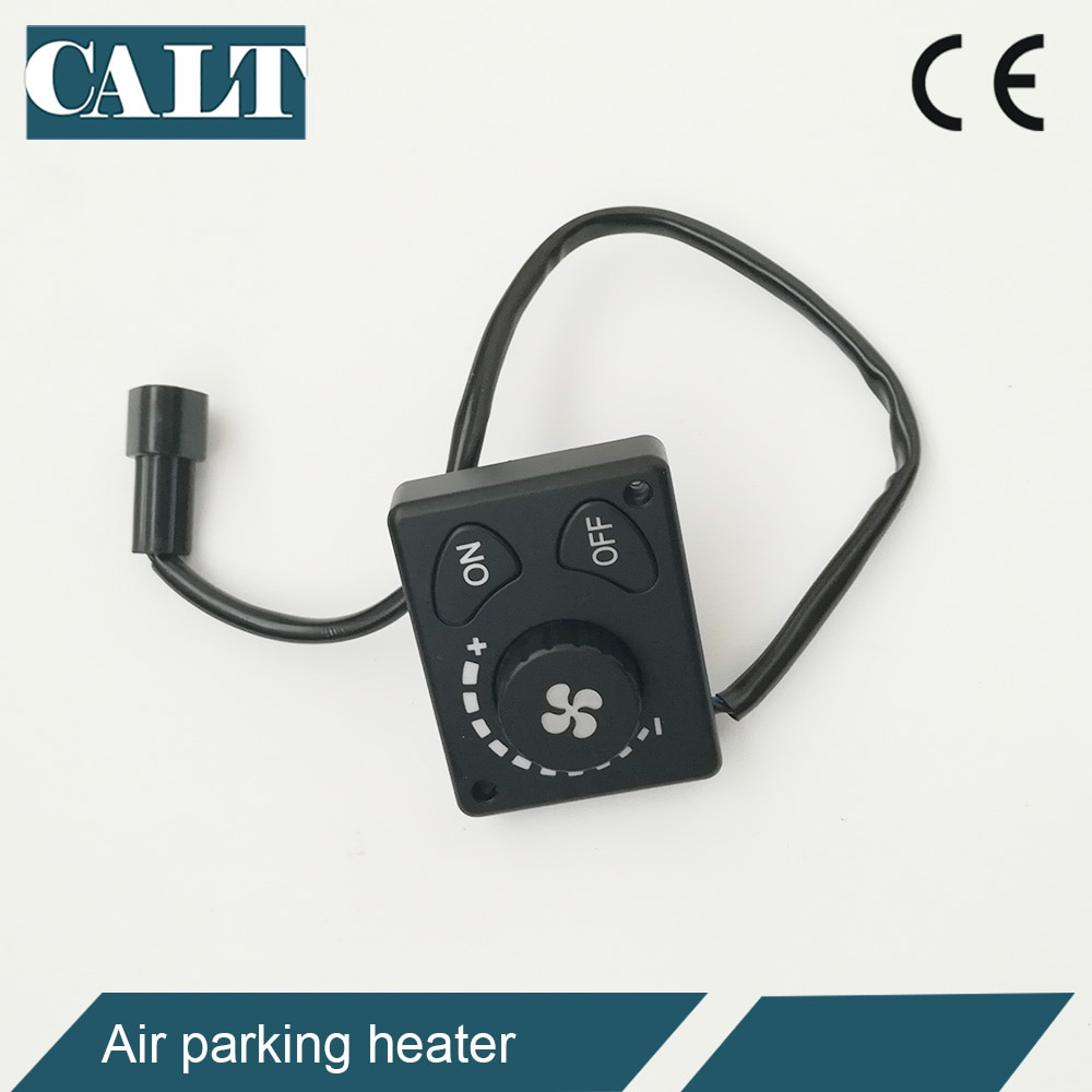 Cheap 2kw Air Diesel Parking Heater 12volt with knob / remote controller Heating & Fans for Car Bus Truck enlarge