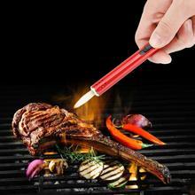 Metal torch lighter Outdoor Barbecue Charcoal Gas Cooker Stove lighter Kitchen Igniter Gun Lighter butane torch soplete cocina
