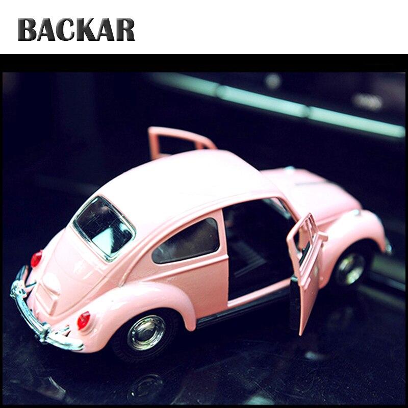 Mini juguetes de regalo para niños modelo Auto Beetle BACKAR accesorios de aleación para Toyota Nissan Citroën Jeep Mitsubishi Kia