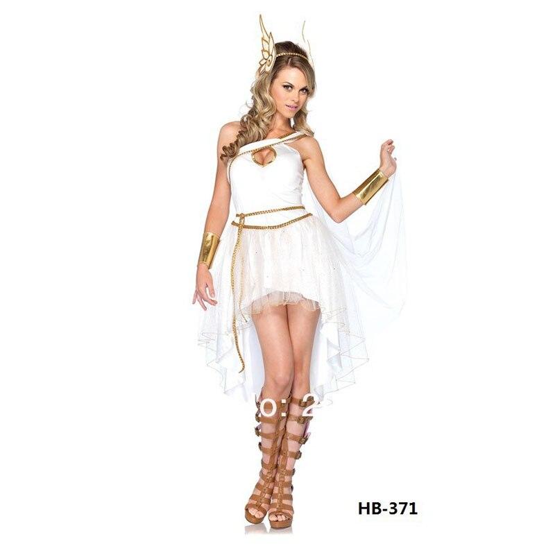 Las mujeres Medieval de la diosa griega adulto traje de la diosa disfraces de Halloween para las mujeres de fantasía Cosplay