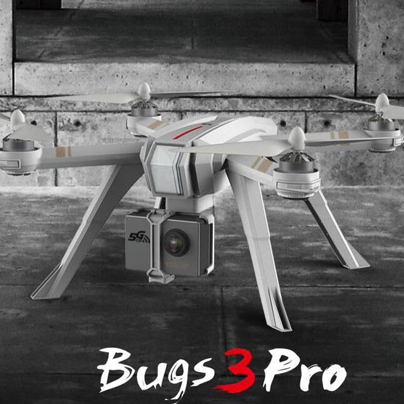 Original MJX B3 PRO RC Drone Quadcopter Dual GPS Follow Me/Motor sin escobillas/puede levantar Gopro Sjcam (elegir C6000 Cámara)