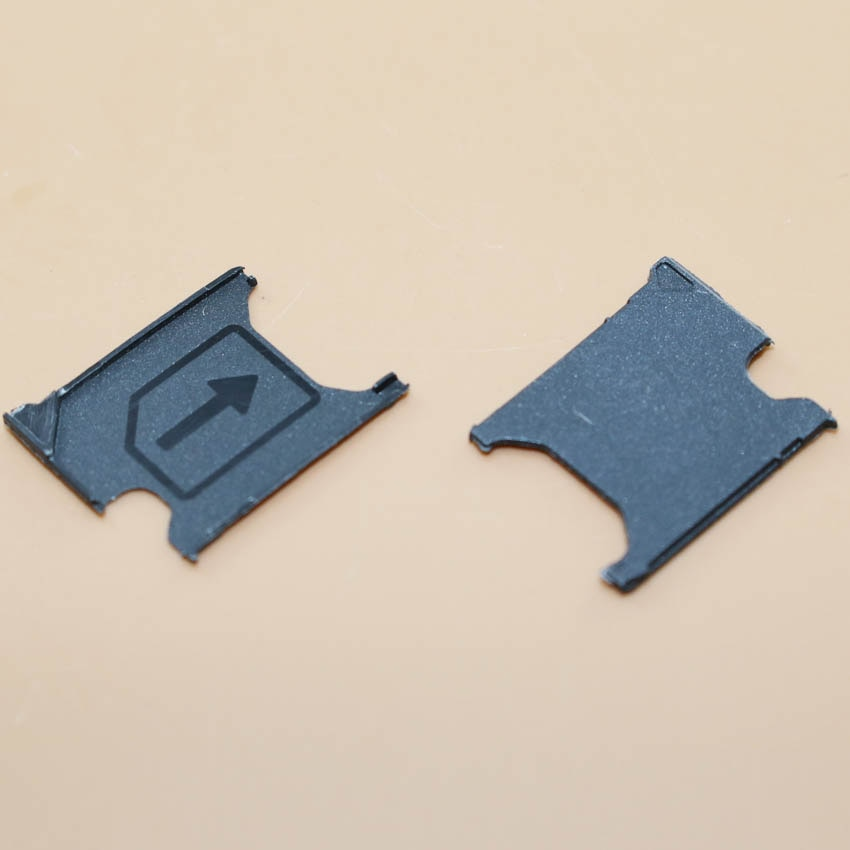YuXi Micro soporte para tarjeta Sim, reemplazo de bandeja de ranura, pieza para Sony Xperia Z1 L39h C6903