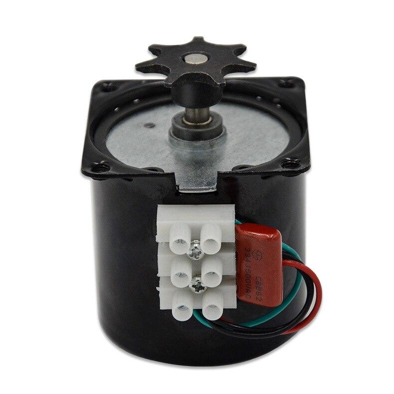 Incubadora automática para motor ac220v 2.5 r/min, incubadora para motor de torneamento, desceleração controlável, motor síncrono de ímã permanente