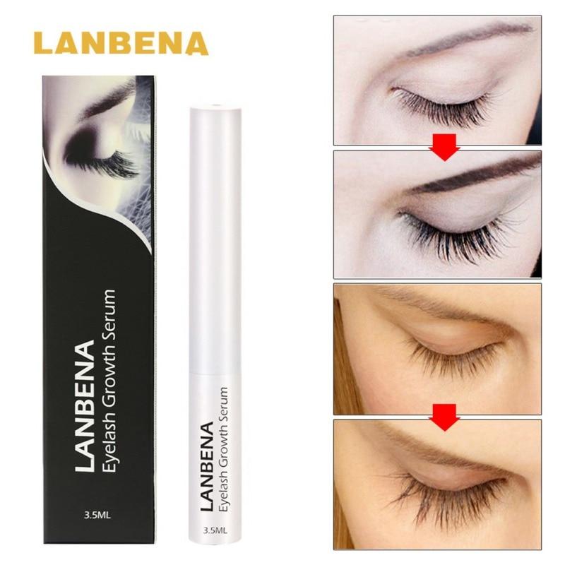 Growth Treatments Liquid Serum Enhancer Eye Lash Longer Thicker Better than Eyelash Extension Powerful Makeup