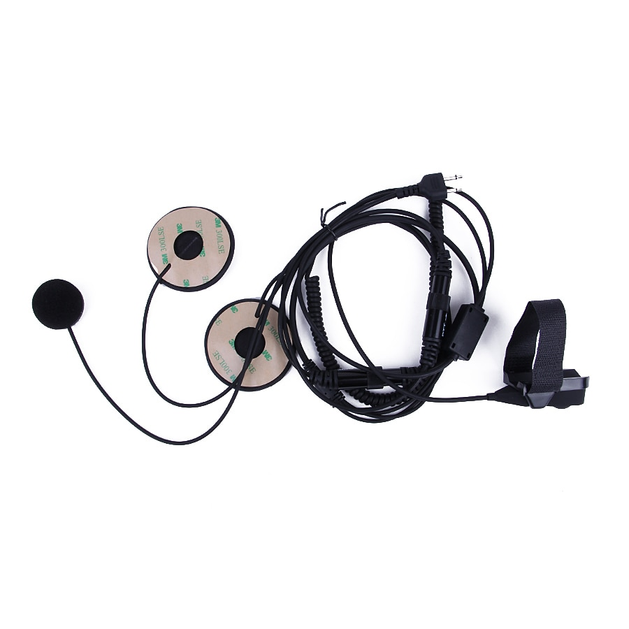 YIDATON мотоциклетная гарнитура для шлема с полным лицом микрофон для ICOM IC-F21 IC-F26 IC-IV8 радио с пальцем PTT Новая гарнитура