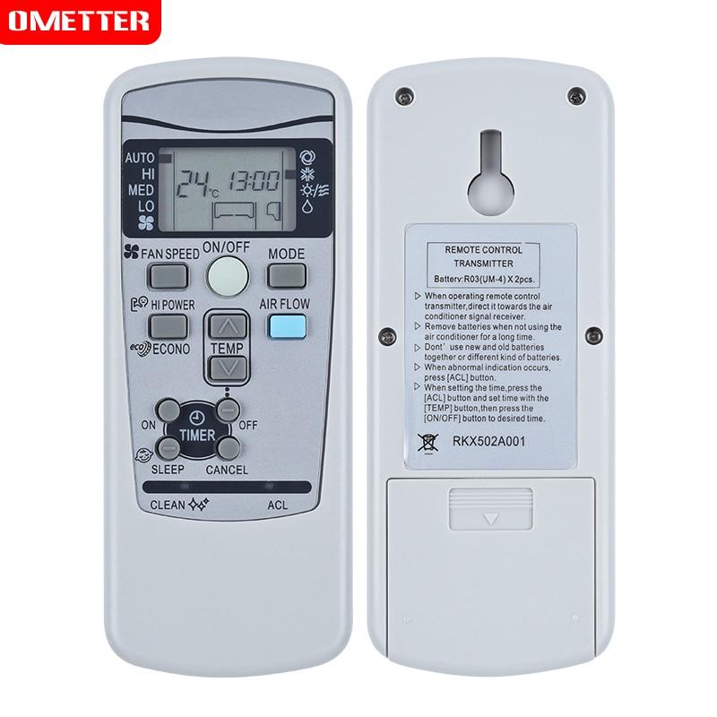 Acondicionador de aire acondicionado de controle remoto adecuado parágrafo m itsubishi RKX502A001 RKX502A001C RKX502A001B R