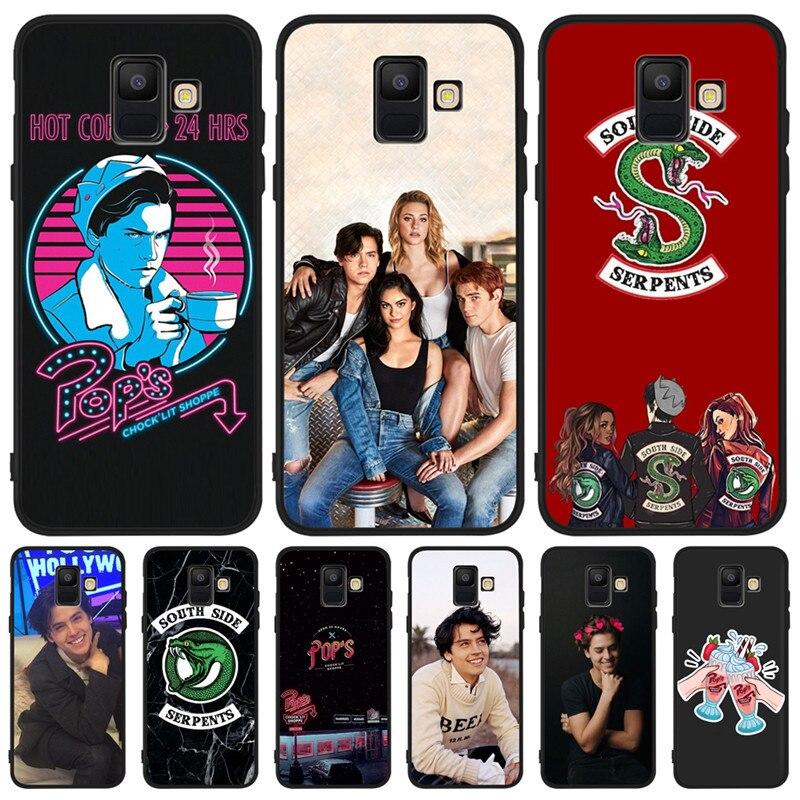 Americano TV Riverdale de lujo para Samsung Galaxy A9 A8 A7 A6 A5 A3 J3 J4 J5 J6 J8 Plus 2017 2018 caja del teléfono de silicona tpu Coque