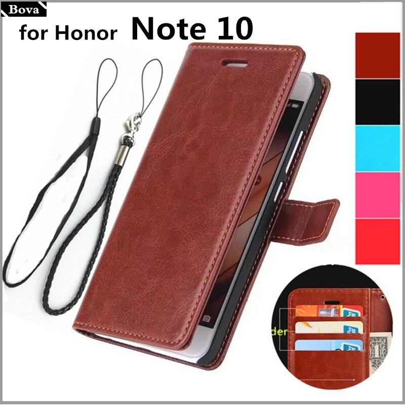 "Para fundas Honor Note 10 funda con tarjetero para Huawei Honor Note 10 (6,95 "") Funda de cuero para teléfono cartera con tapa retro"