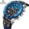 MEGIR – montre de Sport à Quartz pour hommes marque de luxe mode militaire étanche calendrier chronographe Relogio Masculino nouvelle collection 2018