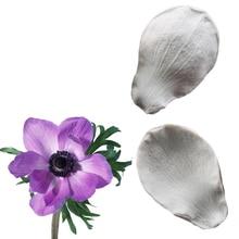 Силиконовая форма Anemone & Pasqueflower, форма для украшения торта, форма для шоколадной мастики, Sugarcraft, кухонные аксессуары