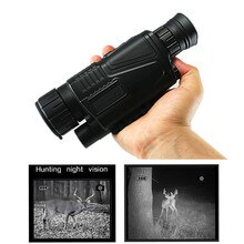 5x40 numérique infrarouge Vision nocturne monoculaire 200M gamme chasse monoculaire Vision nocturne optique
