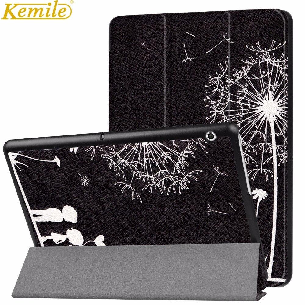 Kemile, funda para Huawei MediaPad T3 10, funda delgada para tableta, fundas para T3 de 9,6 pulgadas, Honor Play Pad 2, funda AGS-L09 AGS-L03 W09