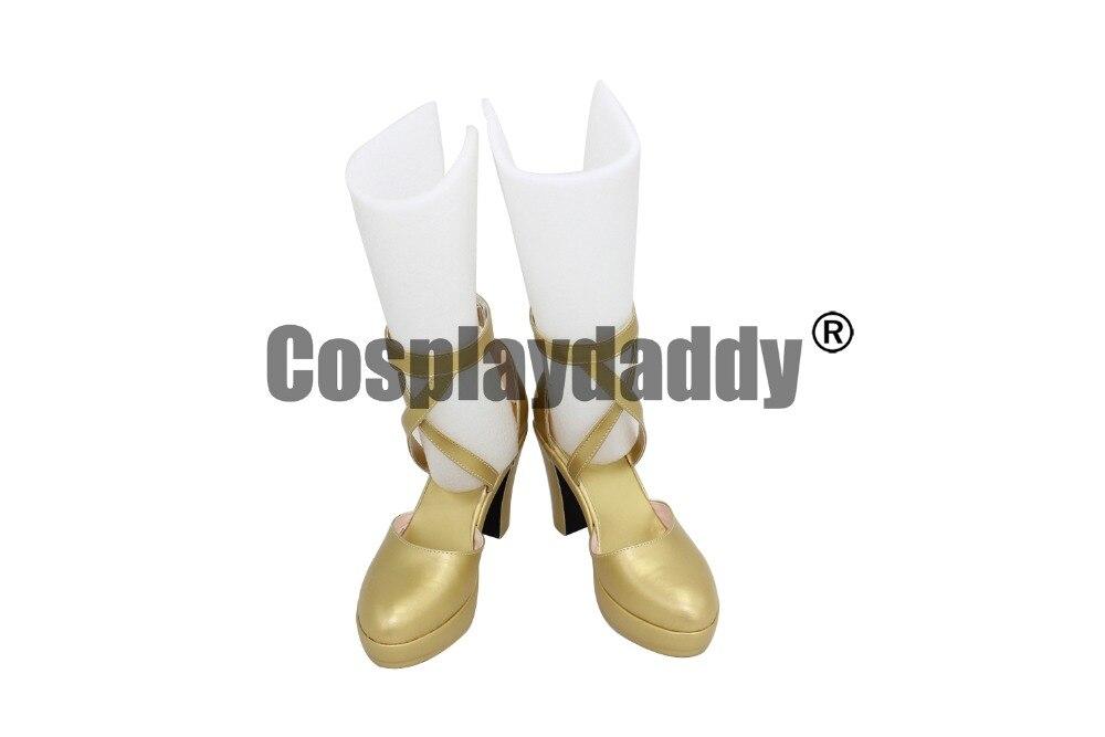 Fire Emblem Awakening Dark Mage Tharja Sallya juego Cosplay zapatos de tacón alto X002