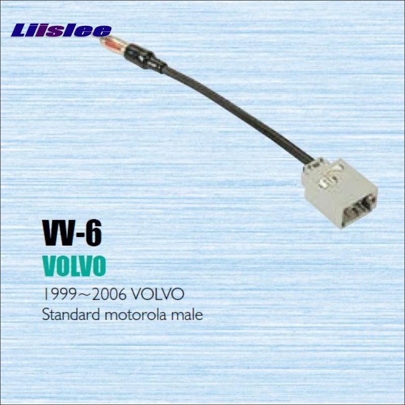 Câble dadaptateur dautoradio et dantenne   Pour Volvo 1999-2006 Kits dinstallation de CD DVD stéréo GPS, accessoires de marché des pièces