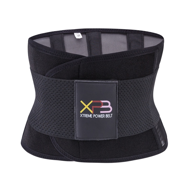 Heating Waist Fitness Belt Xtreme Power Belt Tummy Shaper Thermo Sweat Belt Waist Trainer Corset Wrap Postpartum Slimming Belt