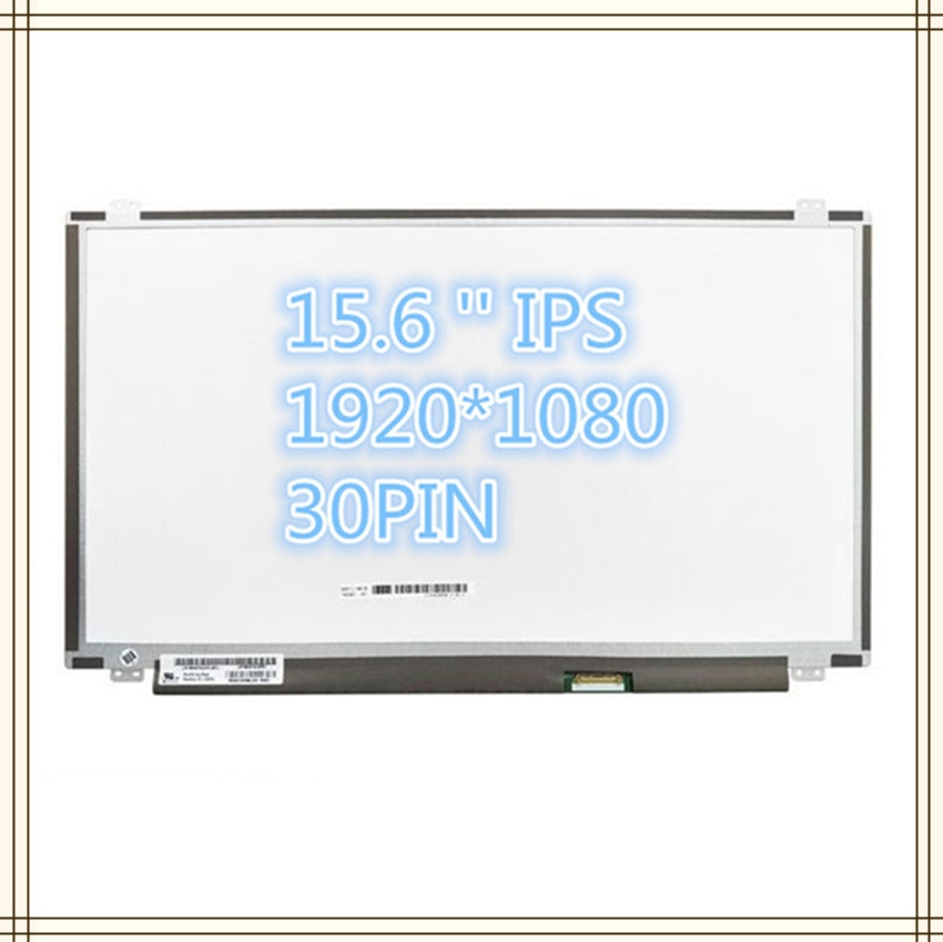 Freies Verschiffen LP156WF6 SPL1 SPC1 SPK1 SPB1 SPM1 SPA1 SPH1 B156HAN01.2 LP156WF4 SPB1 IPS 30PIN 1920X1080 LCD BILDSCHIRM PANEL
