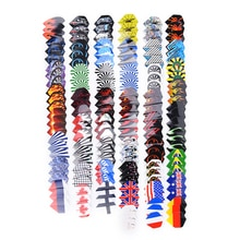 30/50/90/150 pièces PVC fléchettes vols dans 50 types de modèles rares fléchettes Fin plume accessoires Super valeur vols
