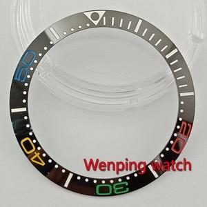 Watch bezel 38mm Color number New ceramic bezel insert for 40mm men's watches