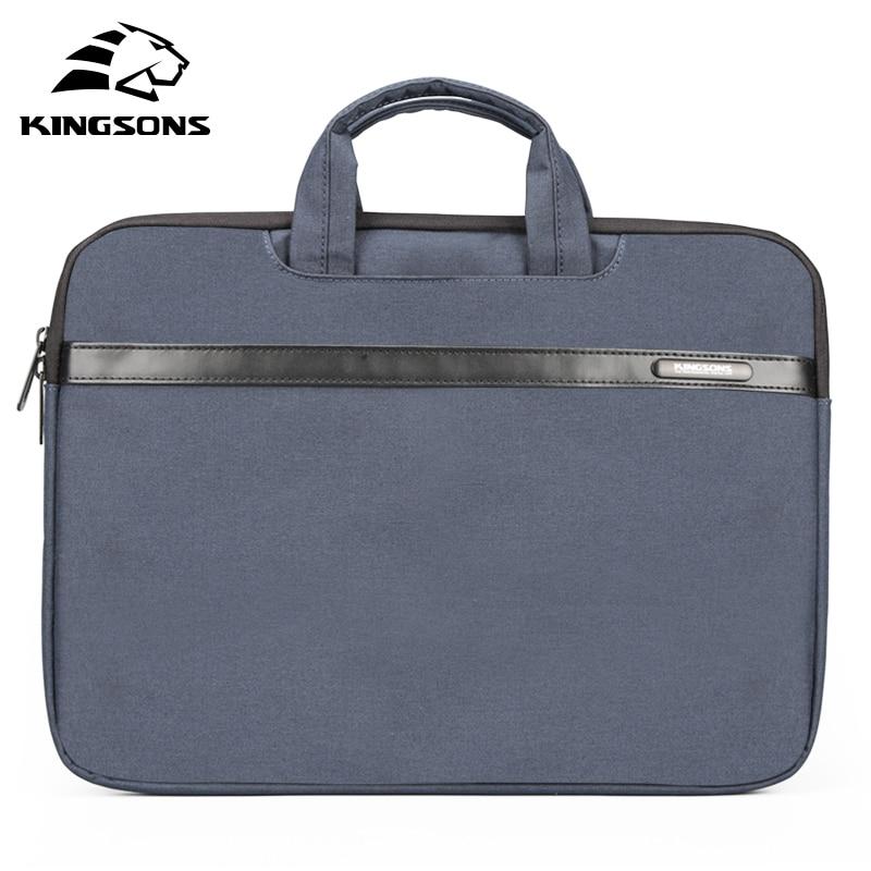Сумка Kingsons для ноутбука 11, 13, 14, 15 дюймов, для мужчин и женщин, деловая сумка для ноутбука, сумка для ноутбука большой вместимости, серый, синий...